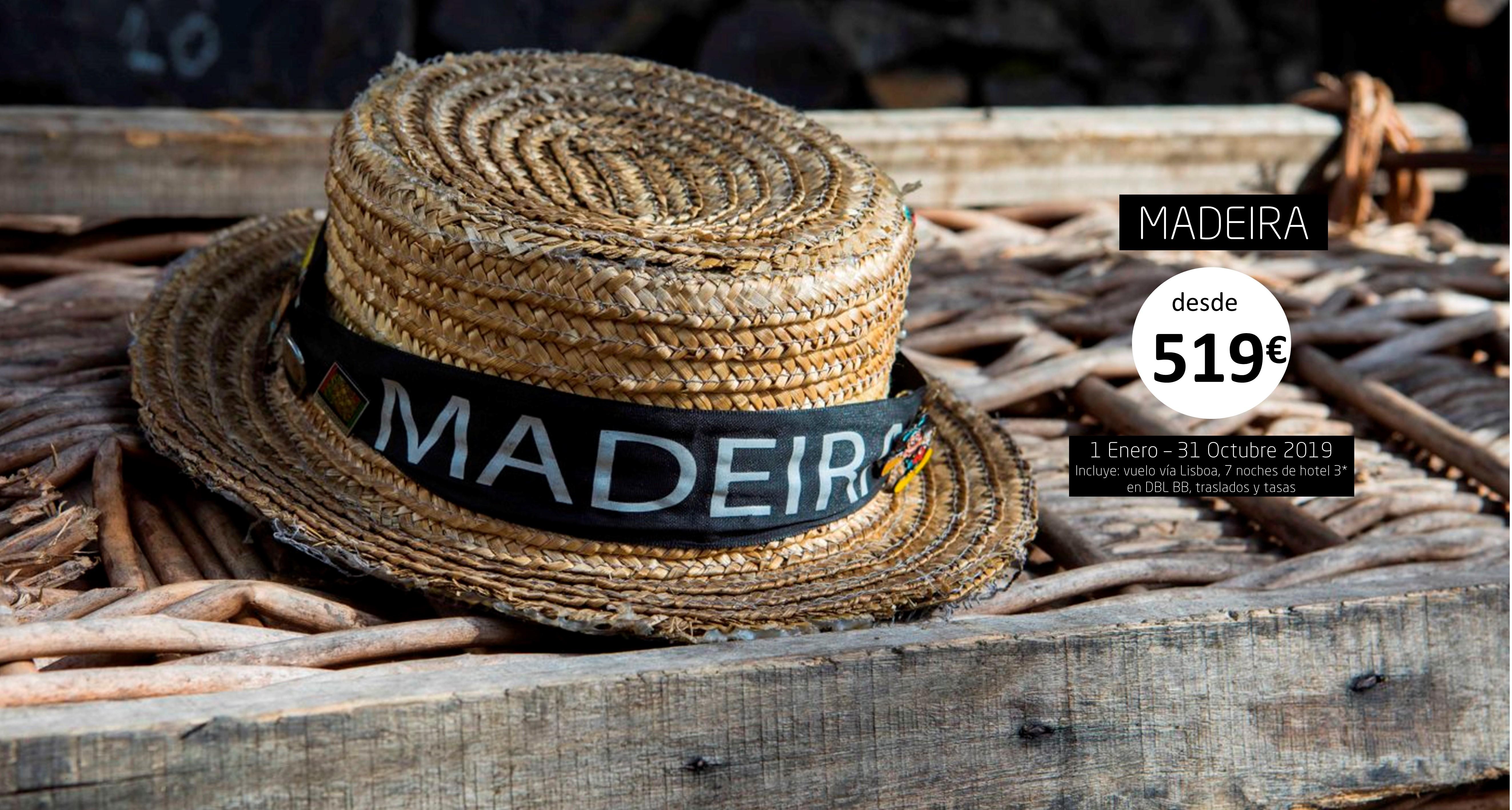 Madeira - Enero- Octubre