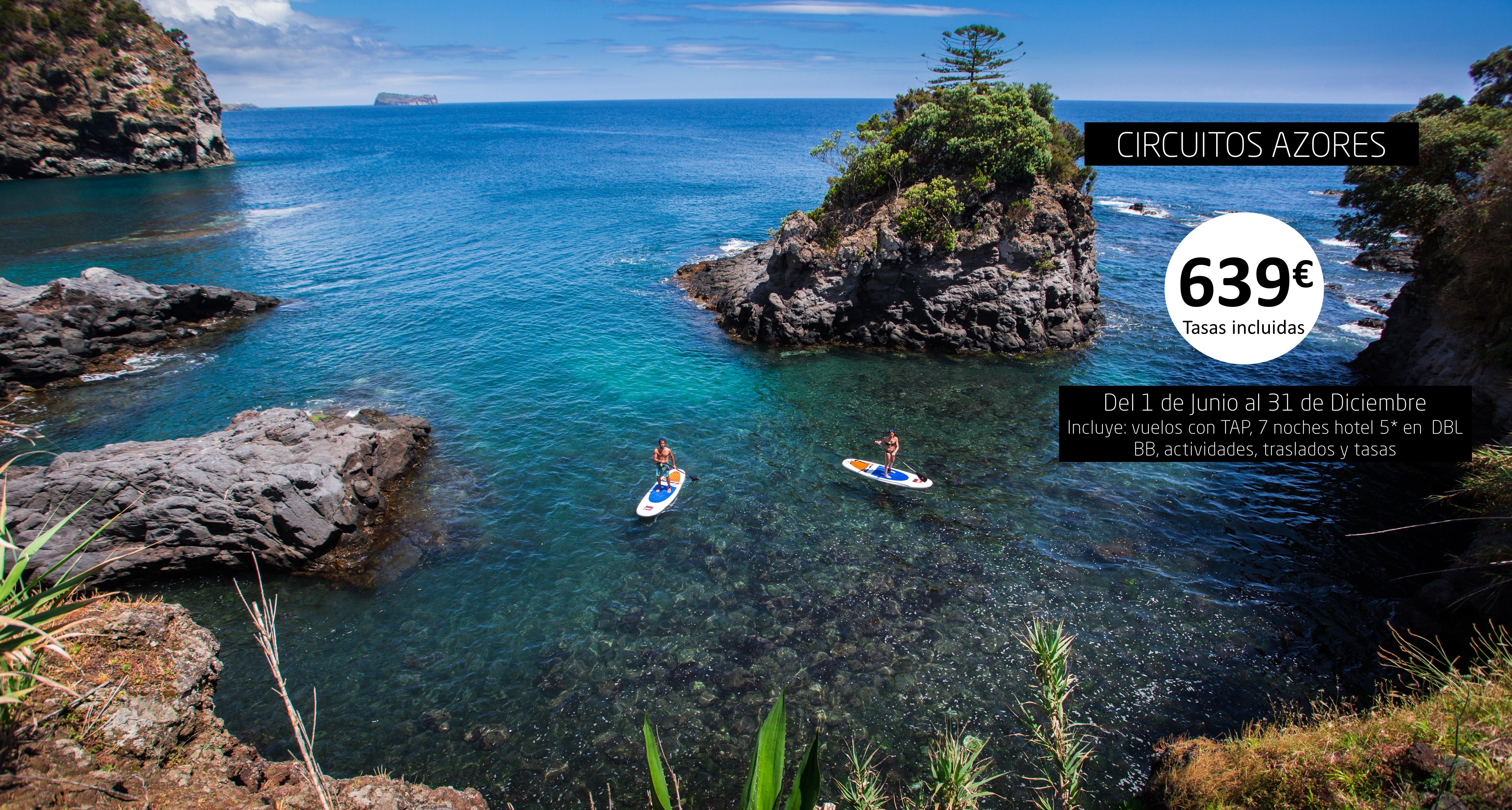 Azores con excursiones